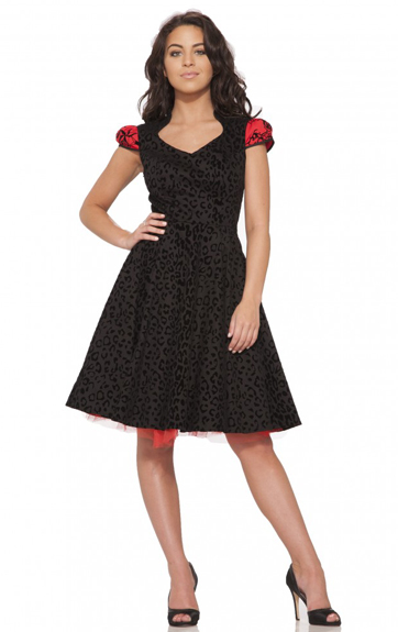 Hearts and Roses Felina Dress