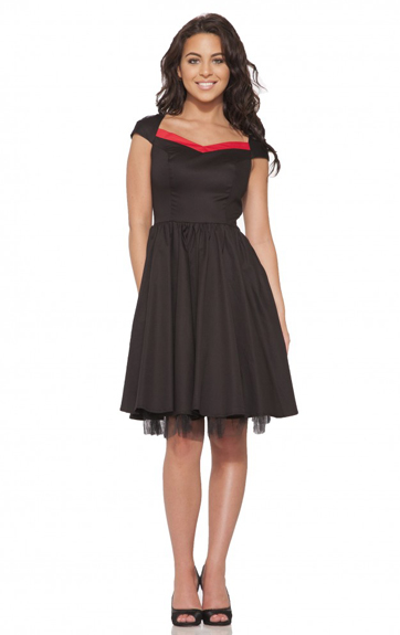 Hearts and Roses Vivian Dress