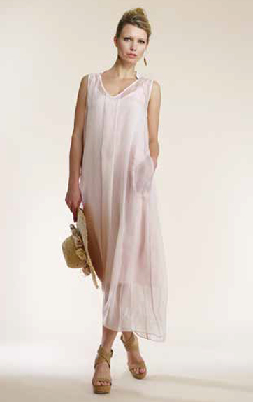 Luna Luz Silk Dress