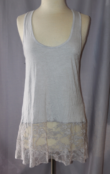 Surrealist USA Hudson Tank with Lace