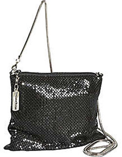 Whiting and Davis Cross Over Body Dance Bag