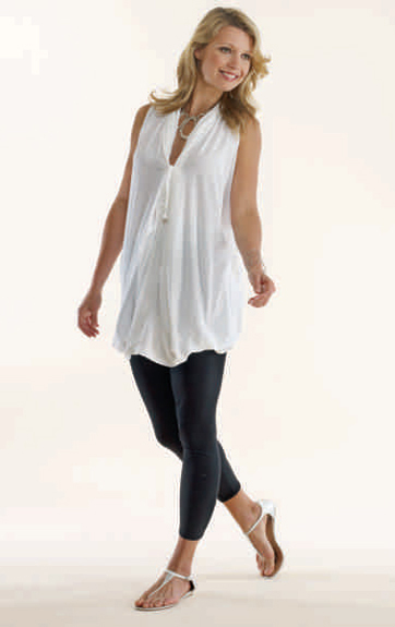Luna Luz Garment Dyed Tunic Top and Leggings